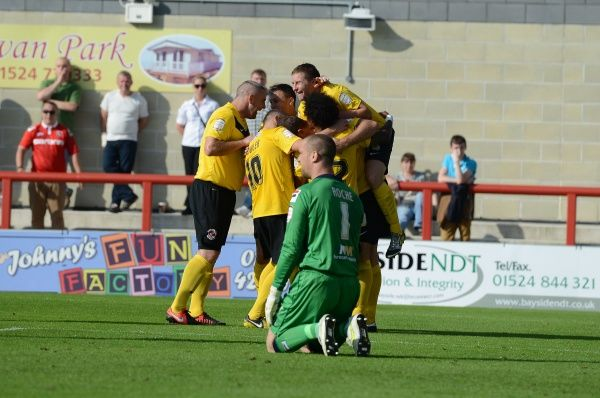 Fleetwood Town FC SEASON 2012-2013: nPower League 2: Cheltenham Town (a)