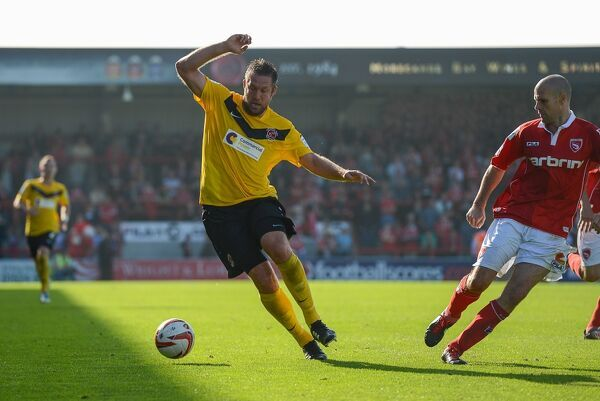 Fleetwood Town FC SEASON 2012-2013: nPower League 2: Morecambe (a)