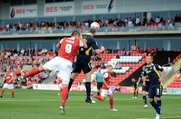 Fleetwood Town FC SEASON 2012-2013: nPower League 2: Torquay United (h)