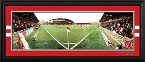 Framed Corner Match Panoramic v Blackpool in FA Cup