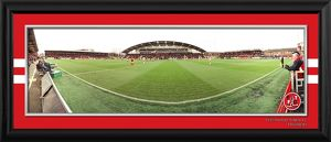 Framed Kick Off Panoramic v Blackpool in FA Cup