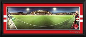 Framed Night Match Panoramic v Blackpool in FA Cup